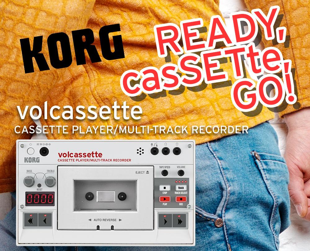 Korg Ready, casSETte, GO!