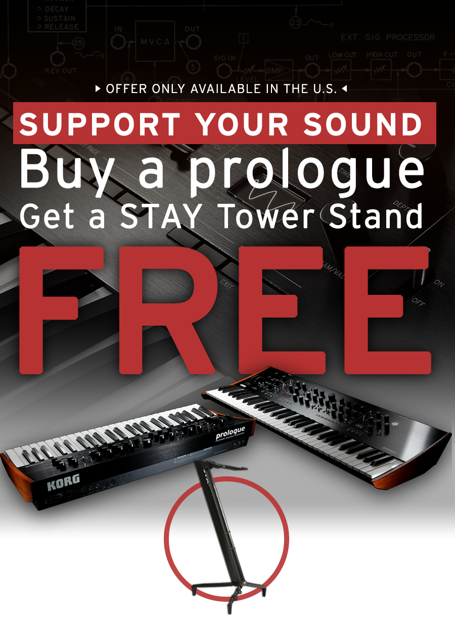 Buy a prologue get a STAY Tower Stand